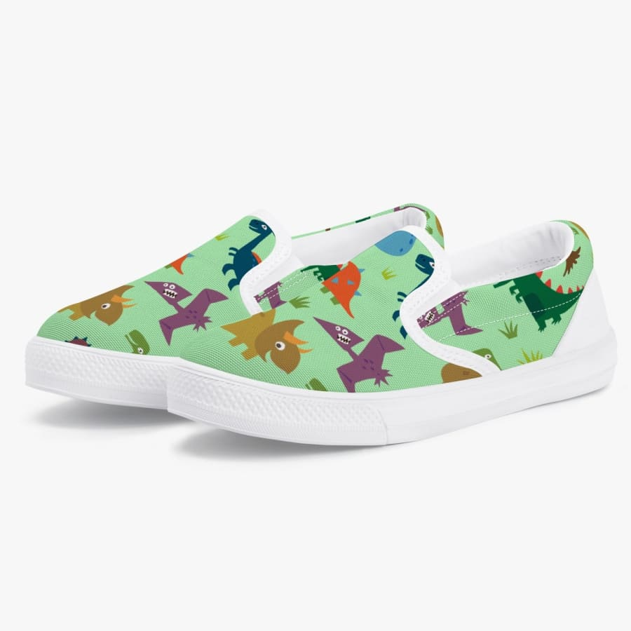 Dinosauria <br> Kids' Slip-On Shoes