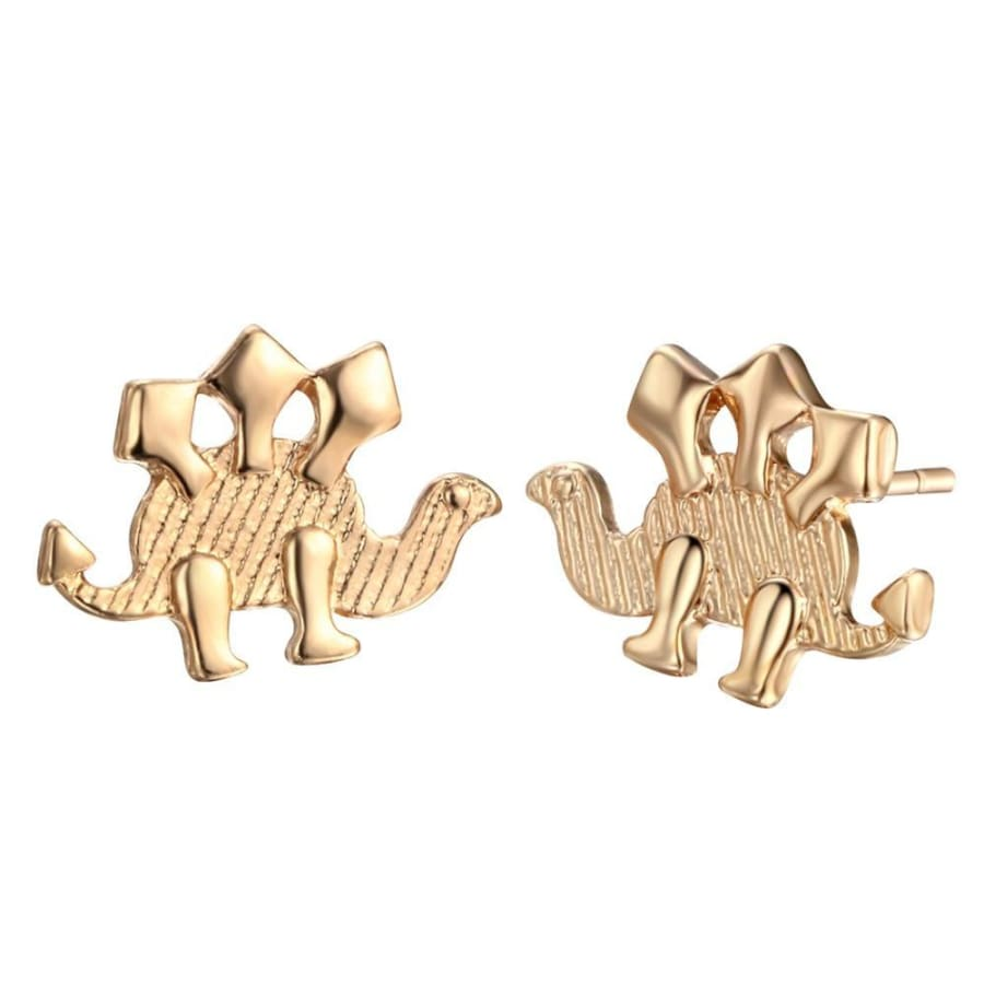 Stegosaurus Studs Earrings