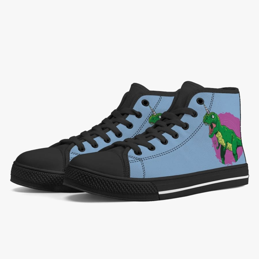 Fairy Dinosaur Unicorn Women's High-Top Sneakers -