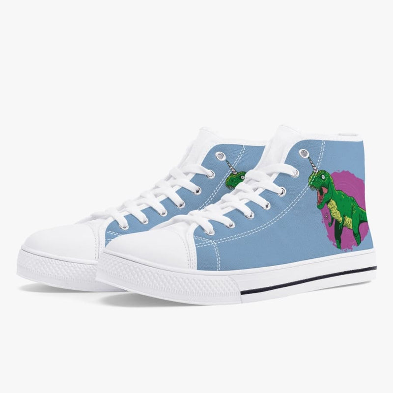 Fairy Dinosaur Unicorn Women's High-Top Sneakers
