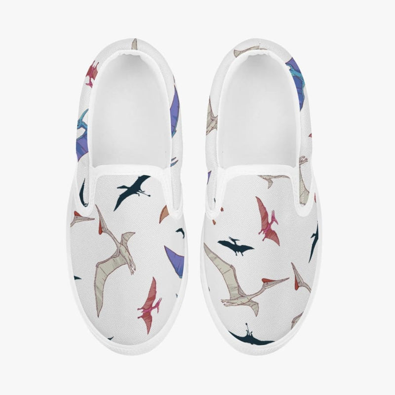 Flying Pterodactyl <br> Kids' Slip-On Shoes