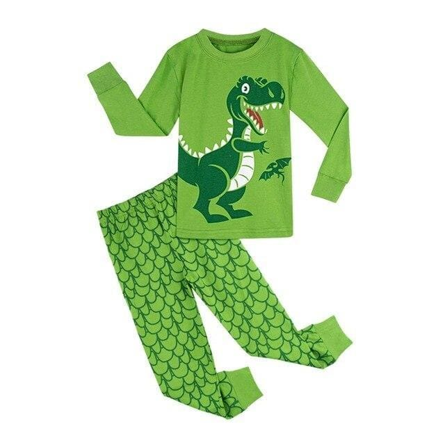 Dino Buddy<br> Cotton Pajamas
