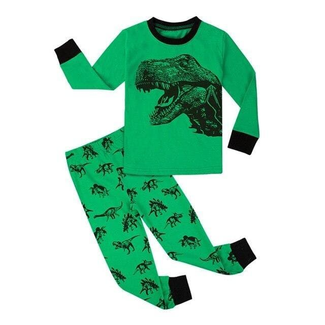 T-Rex Hunt<br> Cotton Pajamas