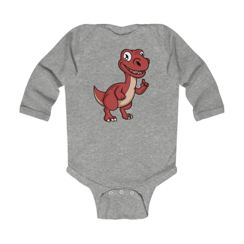 Infant Long Sleeve Bodysuit Baby Raptor