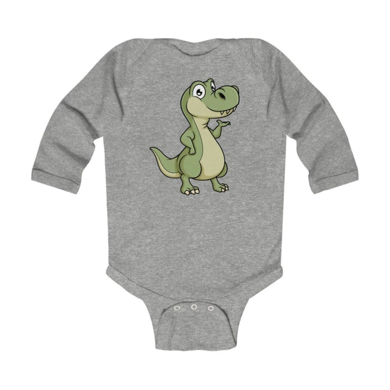 Infant Long Sleeve Bodysuit Baby T-Rex
