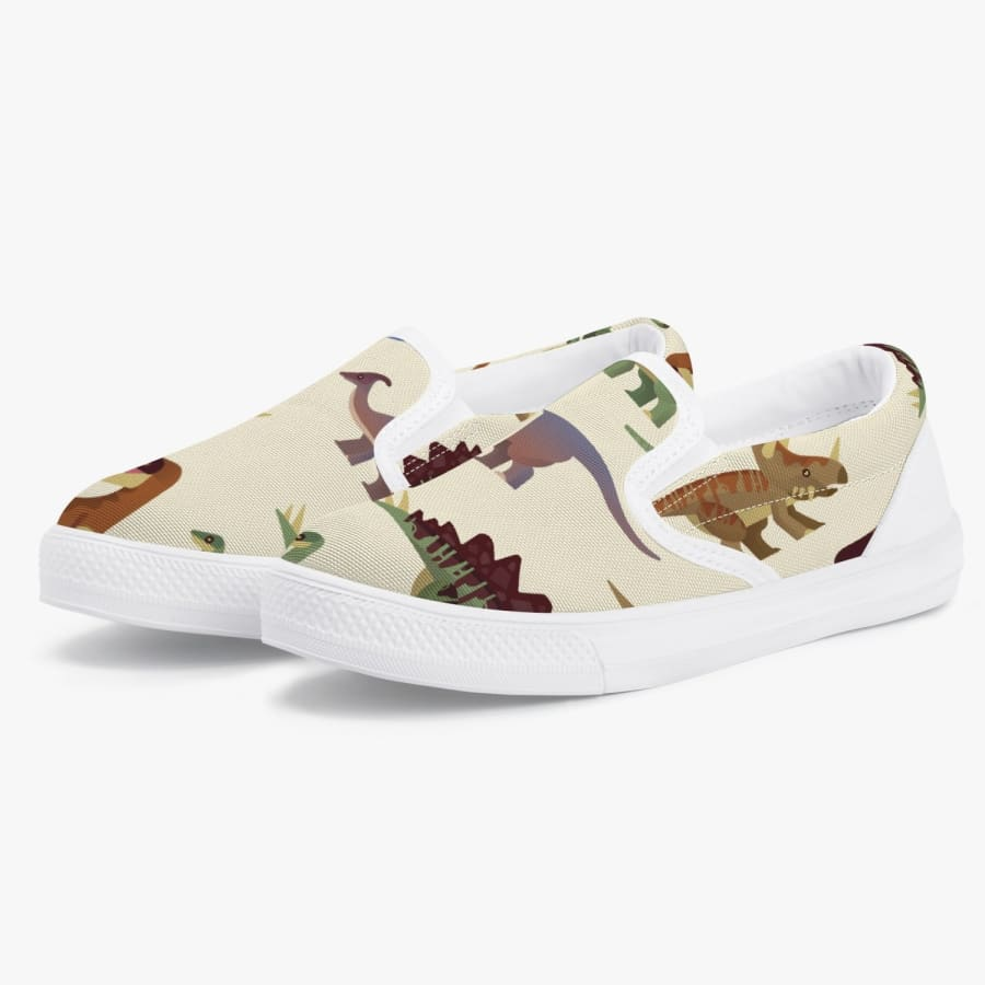 Jurassic Mood <br> Kids' Slip-On Shoes