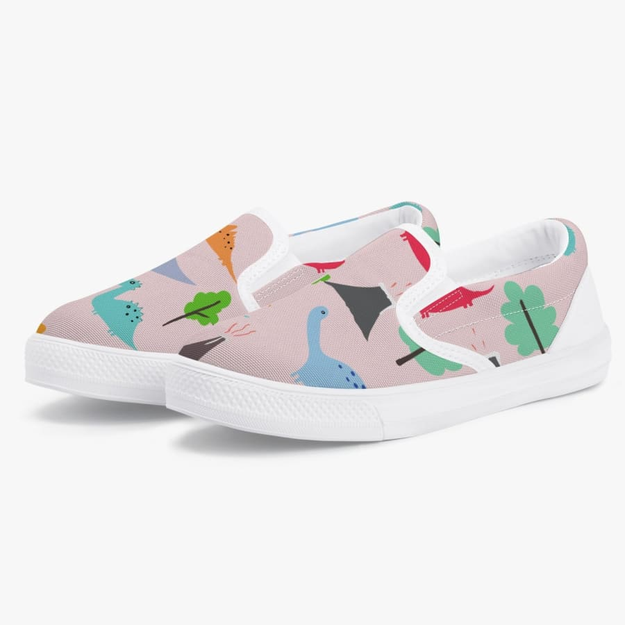 Jurassic Pink Kids' Slip-On Shoes - Child11/EU28 -
