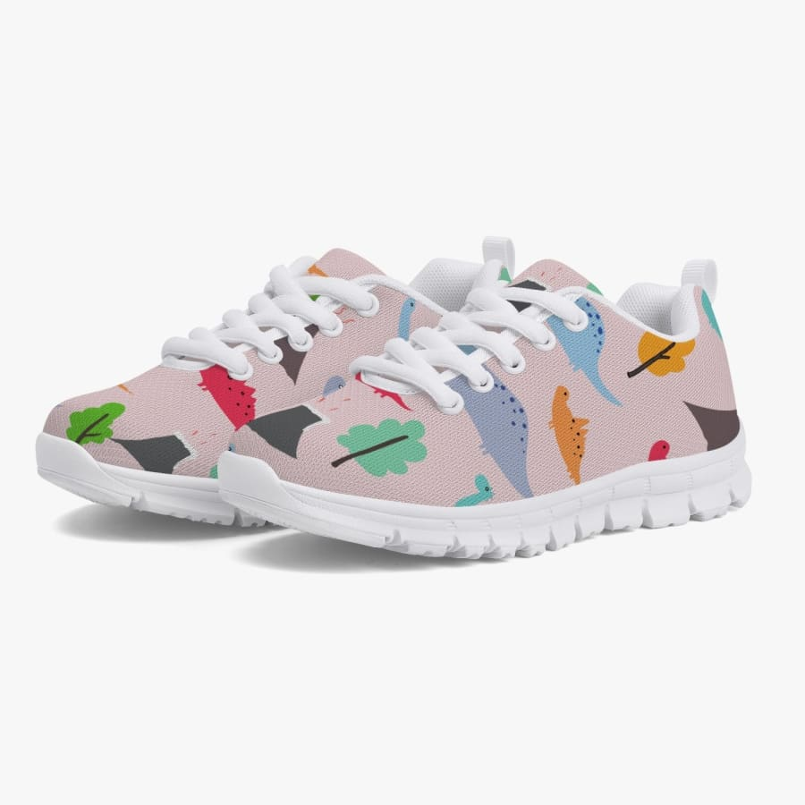 Jurassic Pink Kids' Sneakers - Running
