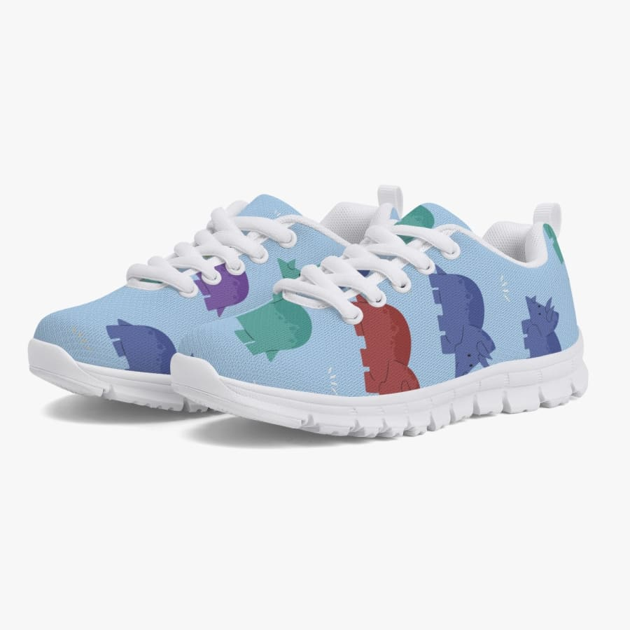 Lovely Triceratops Kids' Sneakers - Running
