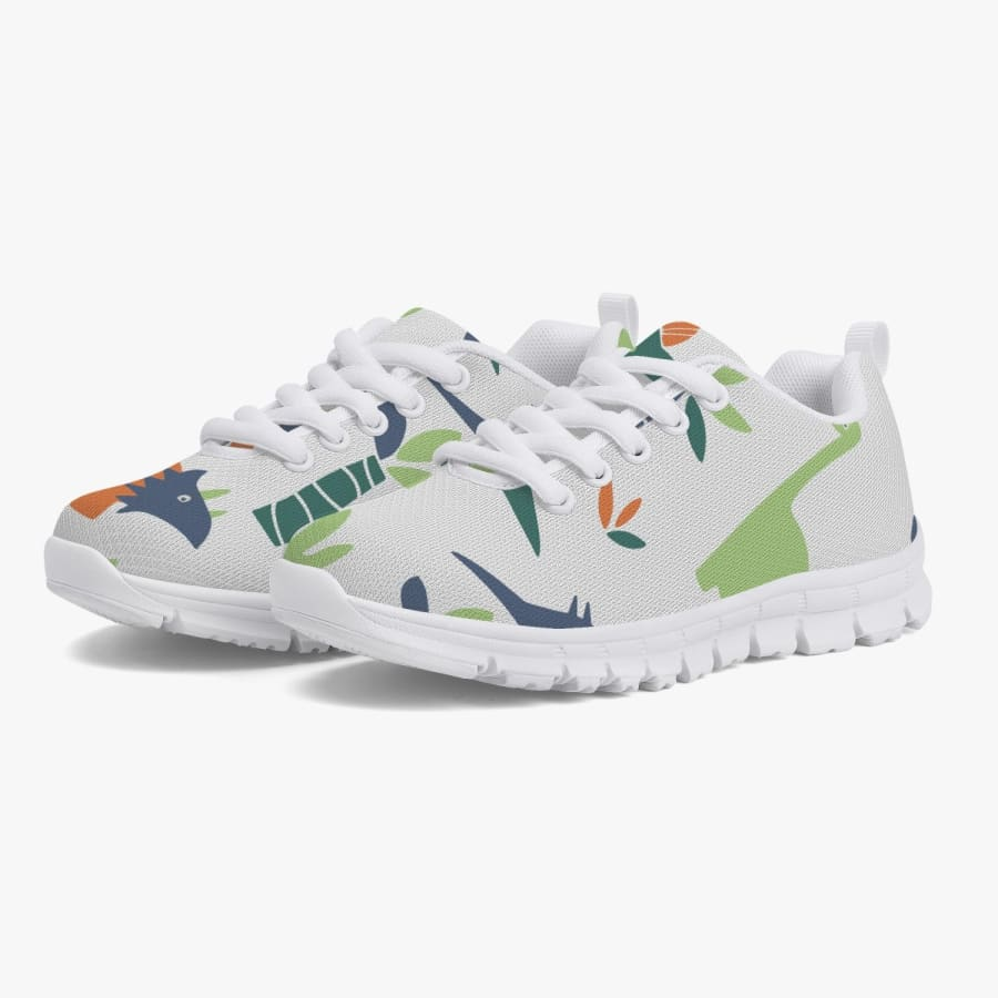 Mesozoic Jungle <br> Kids' Sneakers