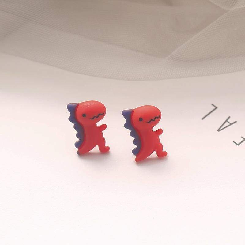 Mini Dinosaur Earrings