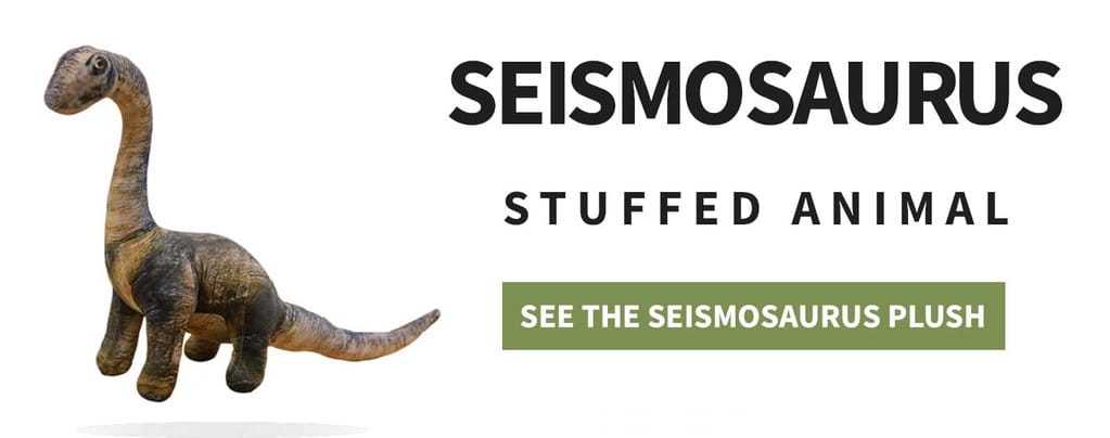 Seismosaurus Stuffed animal