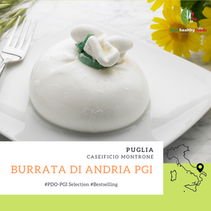Burrata di Andria PGI - An icon of Italian food in Hong Kong