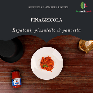 Signature recipes - COSI' COM'E': Rigatoni, pizzutello & bacon