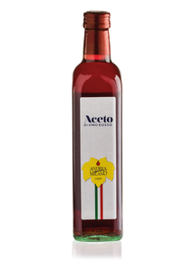 Red wine vinegar - Glass bottle with screw cap 500ml