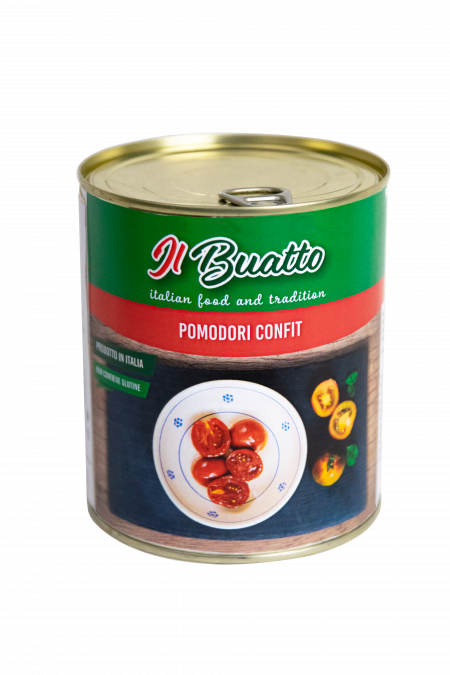 Confit tomatoes in sunflower oil 770g