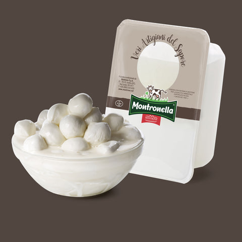 Bocconcini with white cream 10g x 250g tray