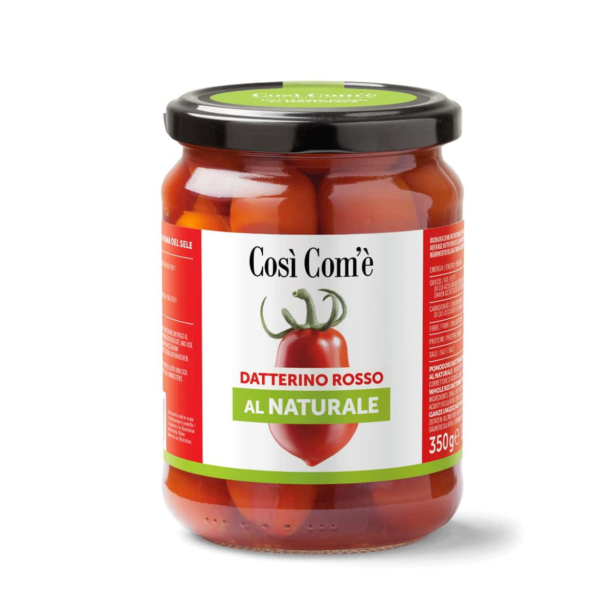 Red datterino tomato in water 350g