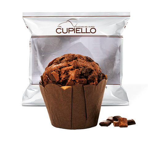 Traditional double chocolate gran muffin 900g