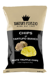 White Truffle Chips 100g