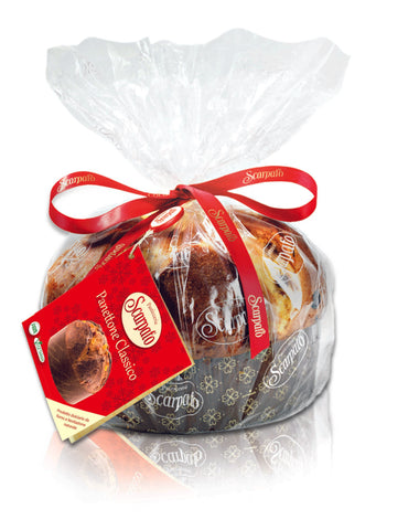 Classic Panettone with raisins & candied fruits 500g
