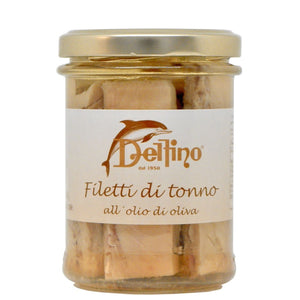 Tuna fillets in olive oil 212ml