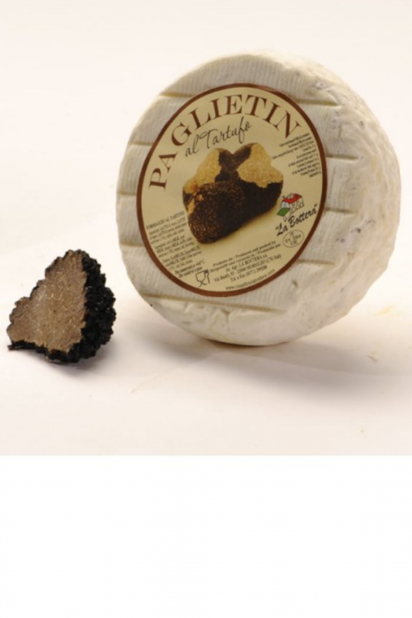 Italian truffle cheese 300g (paglietìn with truffle)