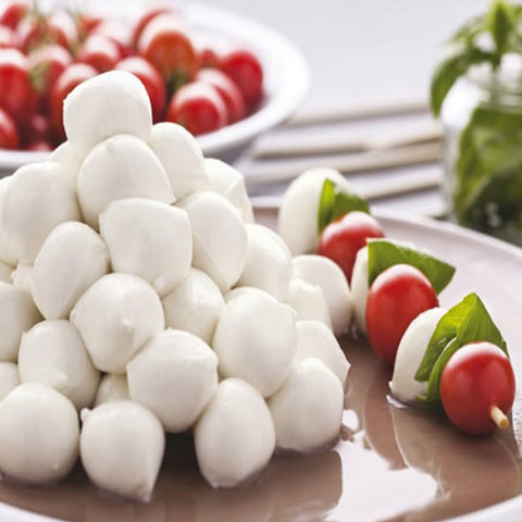 Buffalo Mozzarella PDO pearls 7g x 250g tray