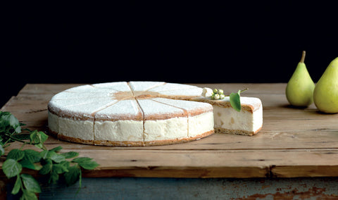 Cake with ricotta and pears 1,2 kg