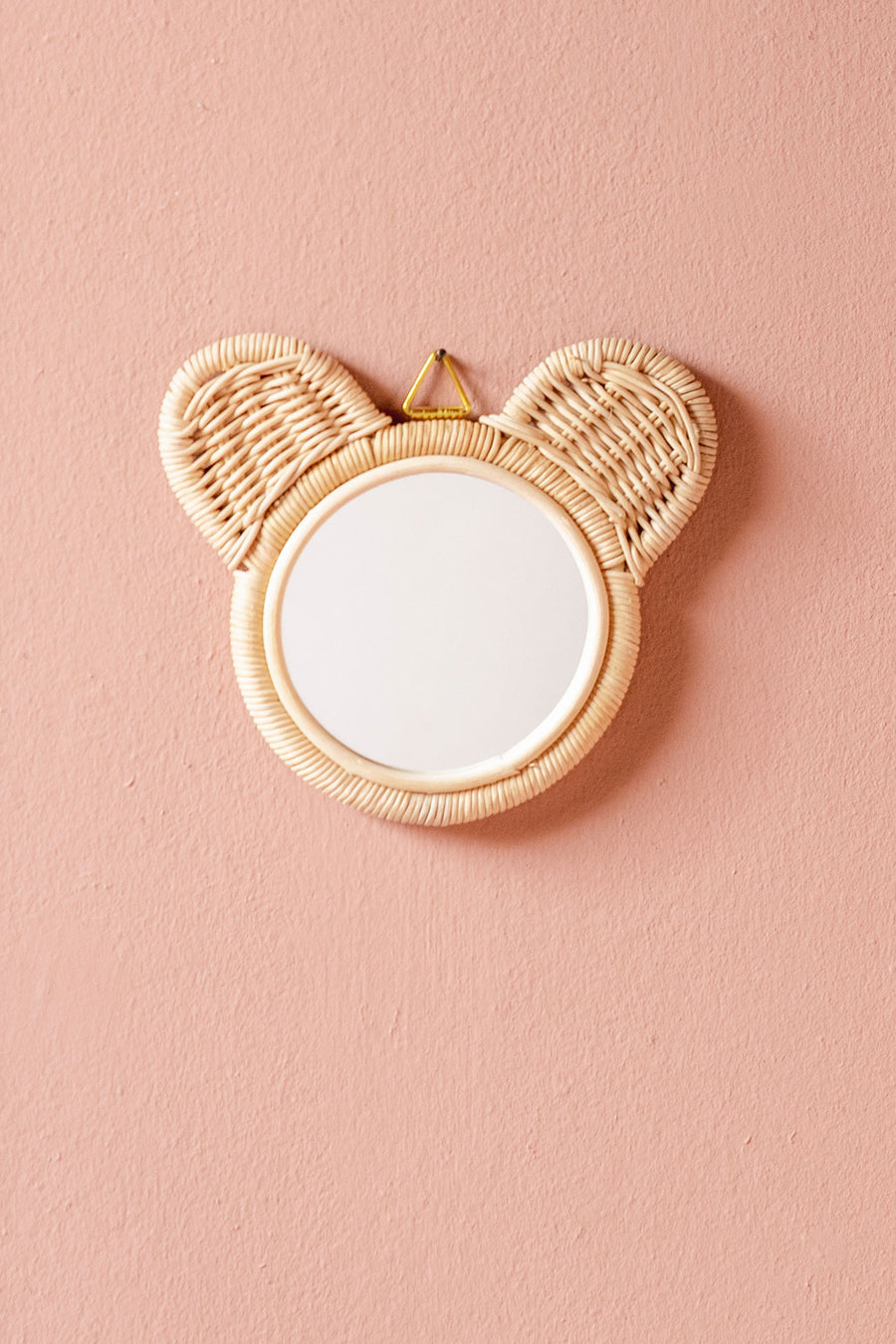 Rattan Mirror // Little Bear Ears