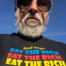 Load image into Gallery viewer, Eat The Rich T-shirt