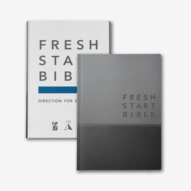Fresh Start Bible Deluxe Edition (Imitation Leather)