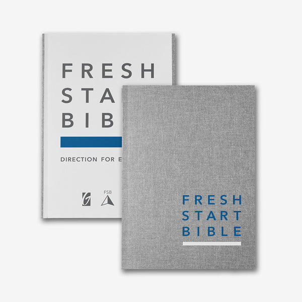 Fresh Start Bible Hardcover Edition (Linen)