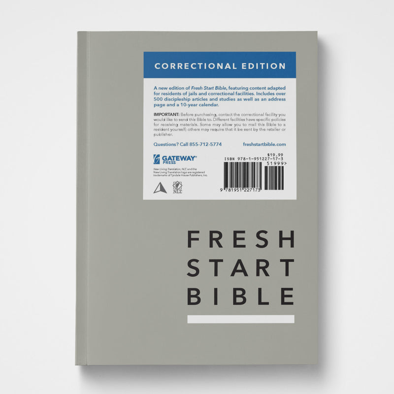 Fresh Start Bible Correctional Edition (Individual)
