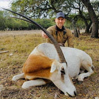 "Trophy Scimitar Oryx Hunt 30""-39"" ($3,950)"