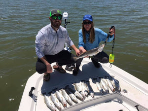 3 Person - Full Day (6-8 Hours) Bay Fishing - $380 Down / $760 Total