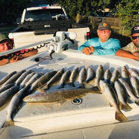 4 Person -1/2 Day Fishing Trip (4-6 Hours) - $375 Down / $750 Total