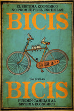 "Load image into Gallery viewer, Cartel ""BICIS"" / Gran OM & Co."