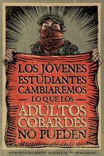 "Load image into Gallery viewer, Cartel ""JOVENES"" / Gran OM & Co."