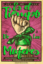 "Load image into Gallery viewer, Cartel ""MUJERES"" / Gran OM & Co."