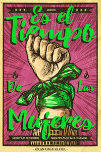 "Cartel ""MUJERES"" / Gran OM & Co."
