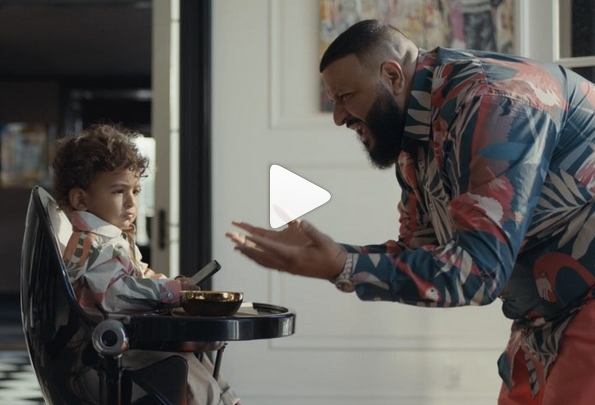check out our fresco high chair in the apple music/dj khaled commercial!