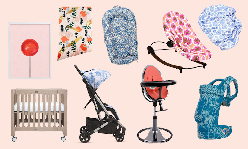 colorfull bloom baby gear