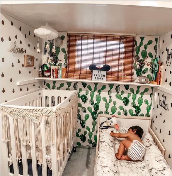rv alma mini crib nursery