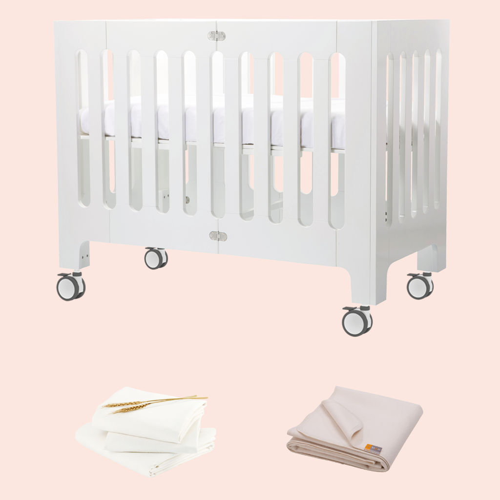 bloom alma papa crib bundle