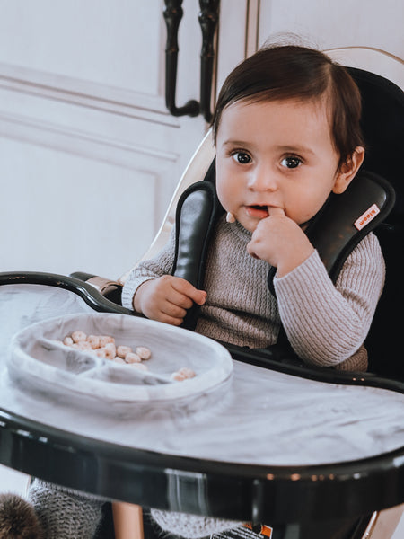bloom rose gold fresco highchair