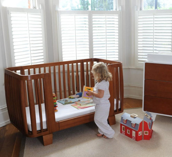 5 Cool Cribs That Convert To Full Beds: Retro Toddler Rail