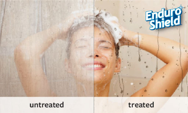 EnduroShield_treated_untreated_shower