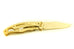 "Gerber Mini Paraframe Fine Edge Pocket Knife, ""Golden Eagle Edition"""