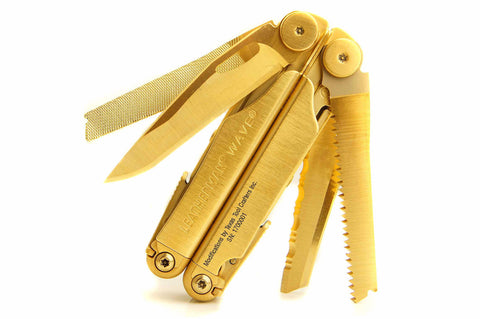 TTC Modified Tool – Golden Eagle Edition – Based on Leatherman Wave